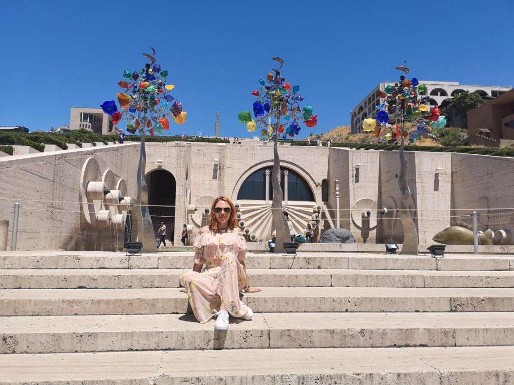 Каскадите в Ереван