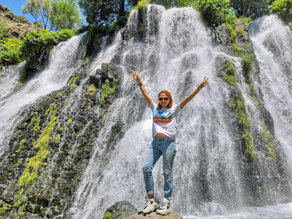Водопадът Шаки