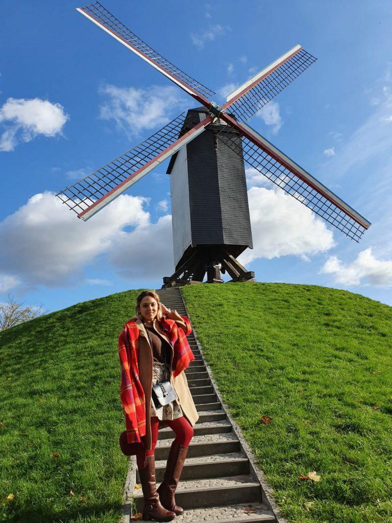 Вятърните мелници в Брюж