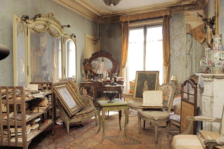 """Снимка на апартамента, който вдъхновява авторката на романа """"Парижна тайна"""""""