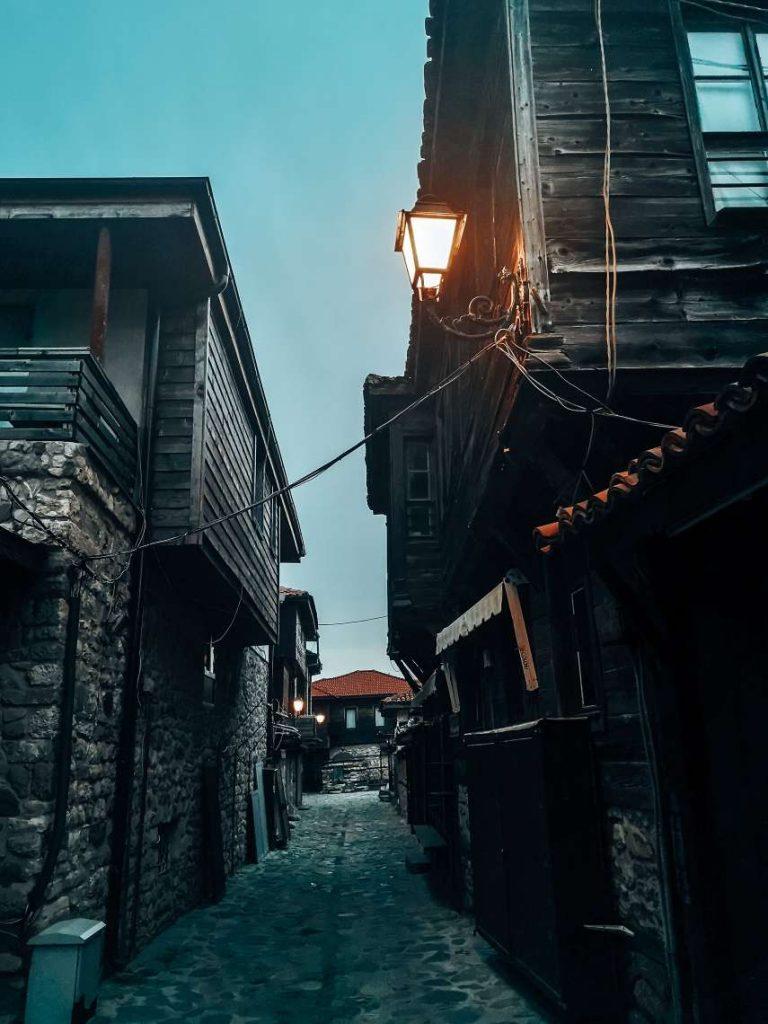 Старият град в Несебър